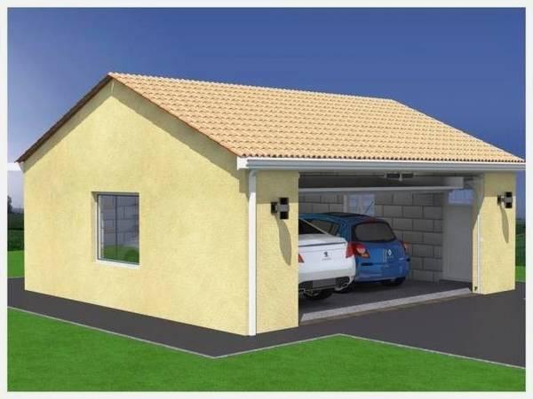construction garage prix