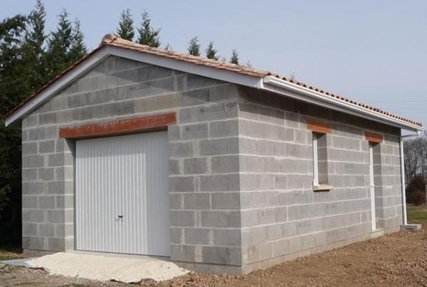 prix du m2 construction garage