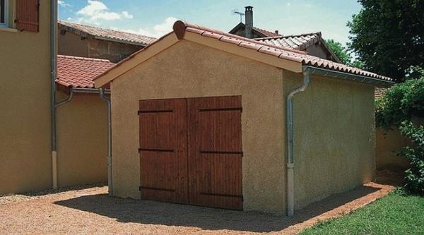prix construction garage m2