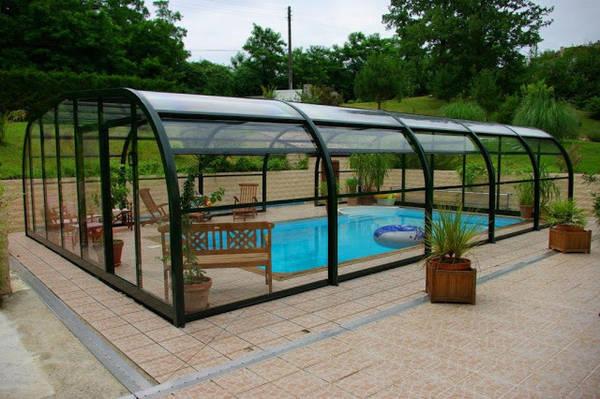 prix abri piscine 8x4
