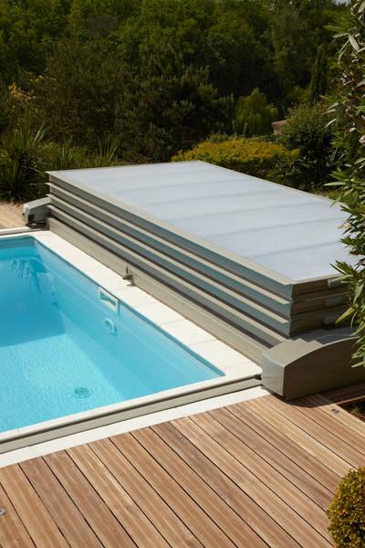 abri piscine extra plat motorise prix