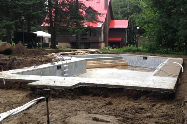 prix pour construire une piscine