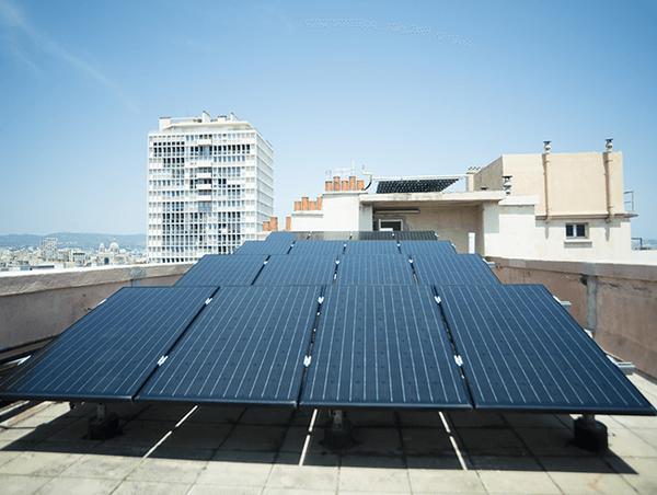 panneaux solaires monocristallin