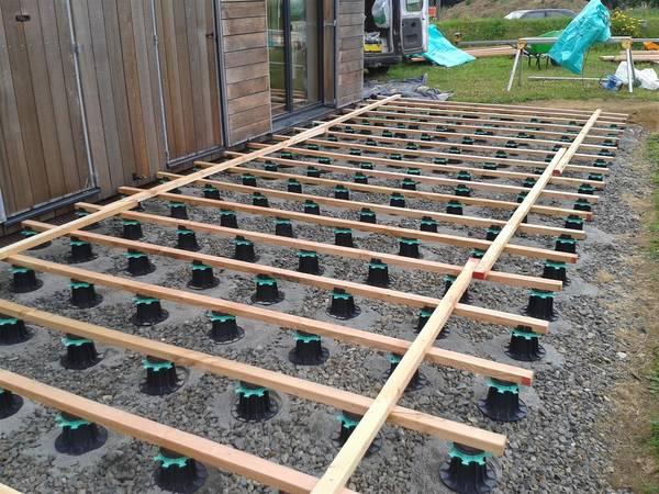 terrasse en bois lame composite