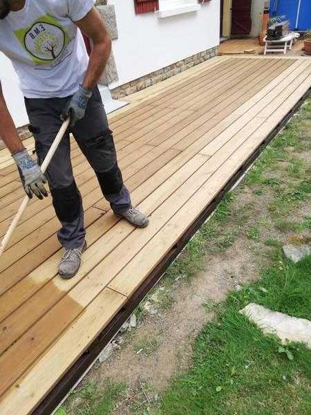 Quelle taille pour une terrasse en bois