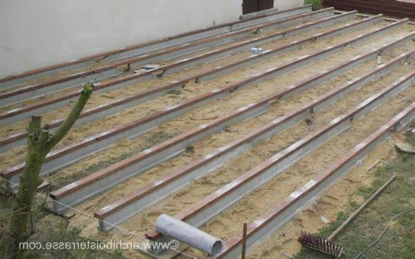 terrasse bois 10 m²