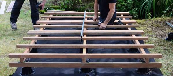 prix au m2 d une terrasse en bois composite