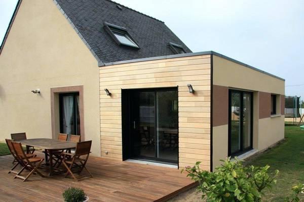 prix d'une extension de maison en ossature bois